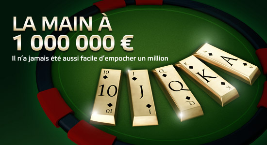 main à 1 million Party Poker