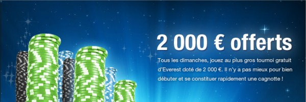 tournoi gratuit everest poker